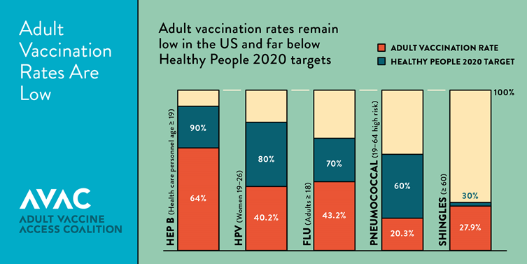 Adult Vax Rates Low