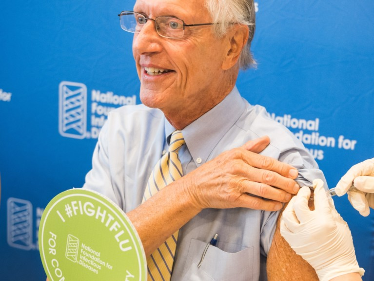 Improving Lagging Flu Vaccination Rates Among the 65+ Population