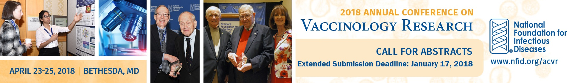 Call for Abstract Extended Deadline Banner