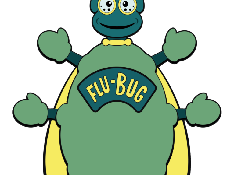 Help The #TravelingFluBug Spread Awareness, Not Disease!