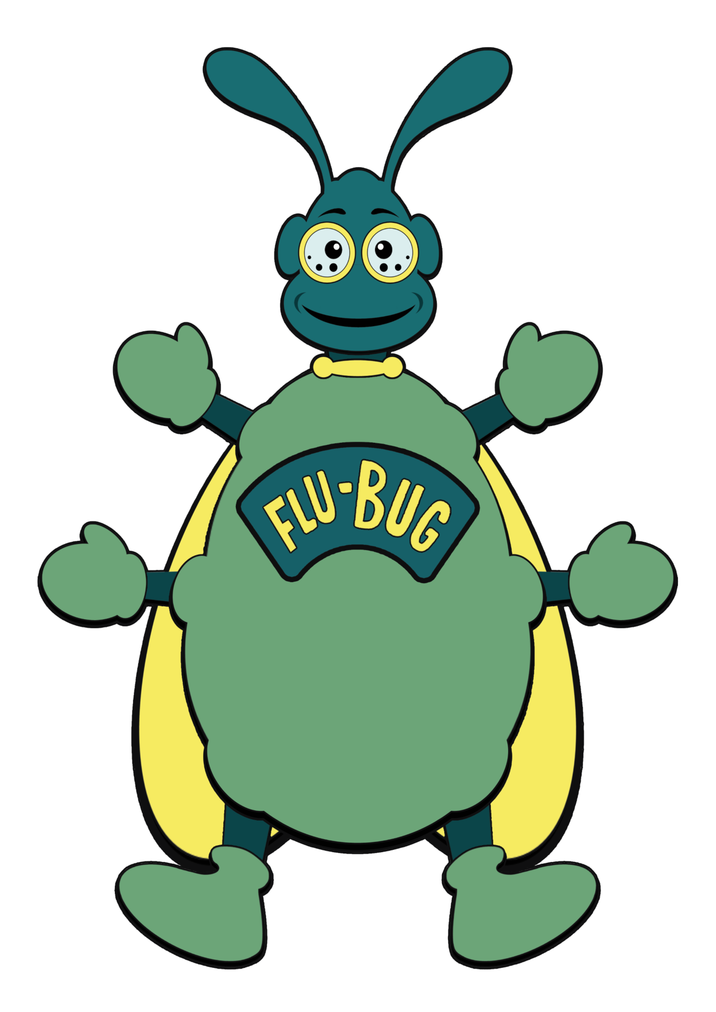 Flu Bug Transparent - no lines