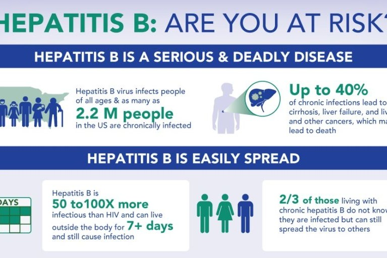 Hepatitis B: Are You At Risk? Infographic