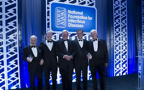Highlights from the 2015 Awards Gala honoring Samuel L. Katz, MD, F. Marc LaForce, MD, and Richard J. Duma, MD, PhD