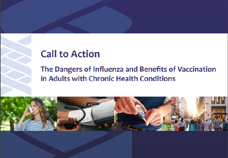 The Dangers of Influenza and Benefits of Vaccination in Adults with Chronic Health Conditions