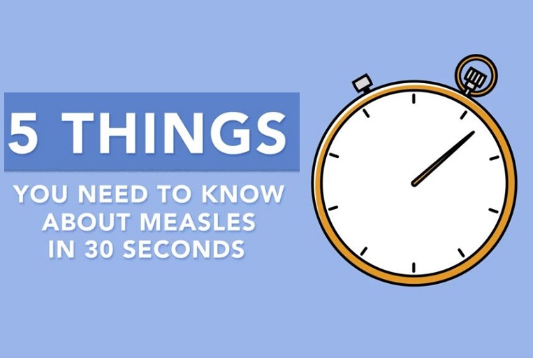 5 Things You Need To Know About Measles in 30 Seconds