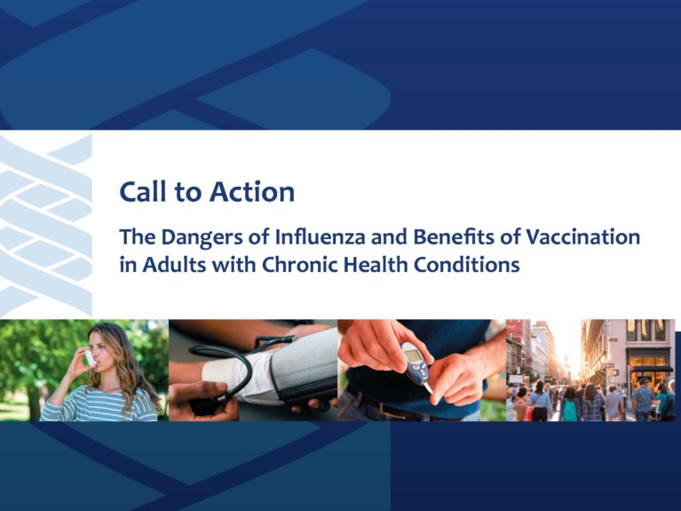 The Dangers of Influenza & Benefits of Vaccination in Adults with Chronic Health Conditions (September 2018)